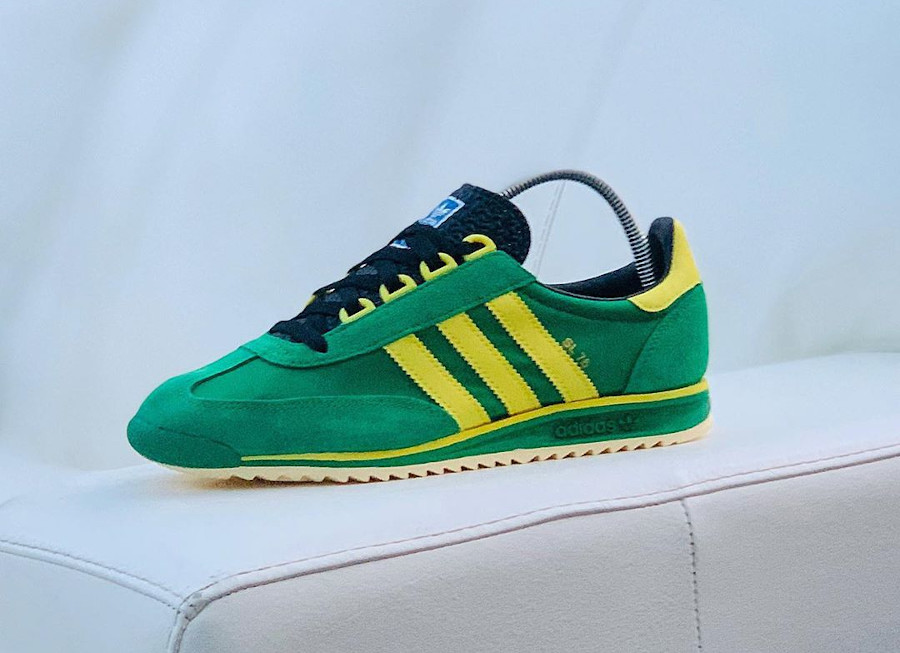 Adidas SL 76 OG Size Exclusive Green Yellow 2020