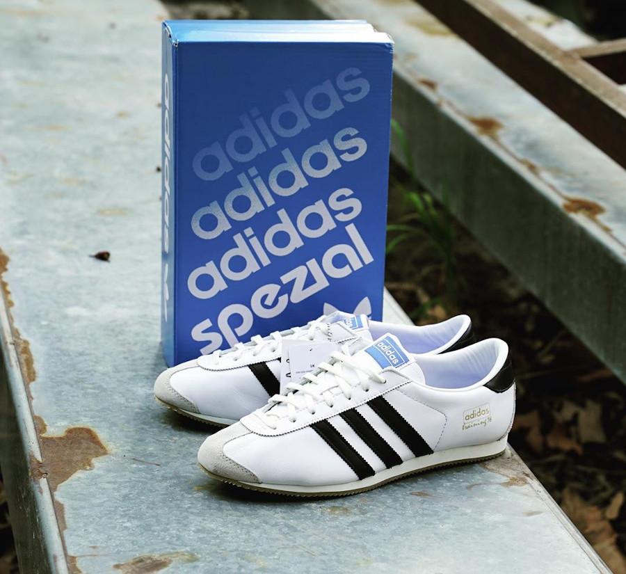 Adidas SL 76 Spezial blanche et noire (1)