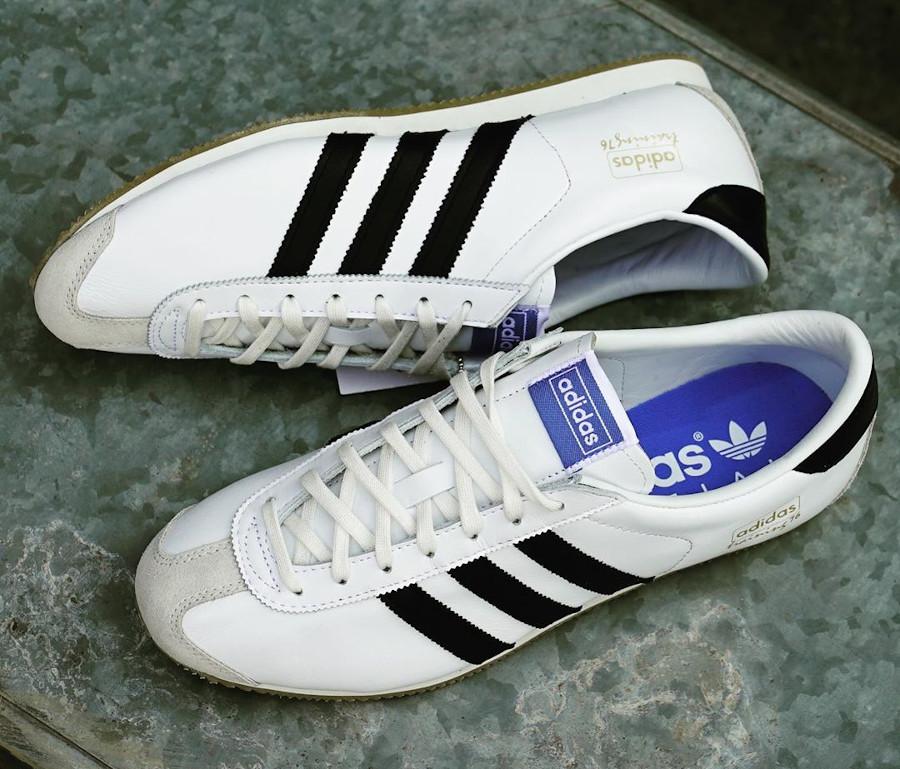 Adidas SL 76 Spezial blanche et noire (3)
