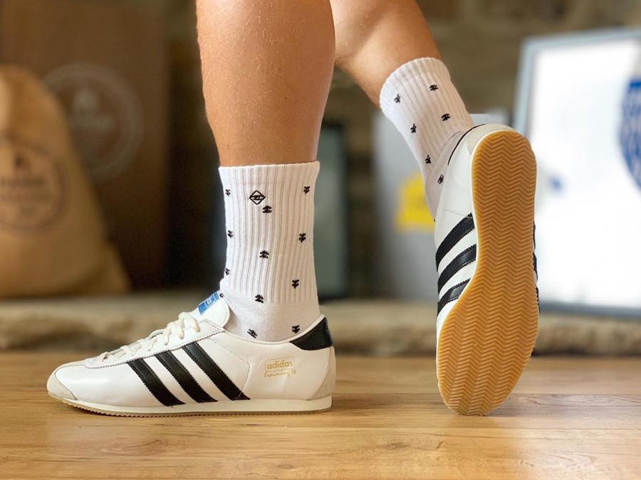 Adidas SL 76 Spezial balnche et noire (4)