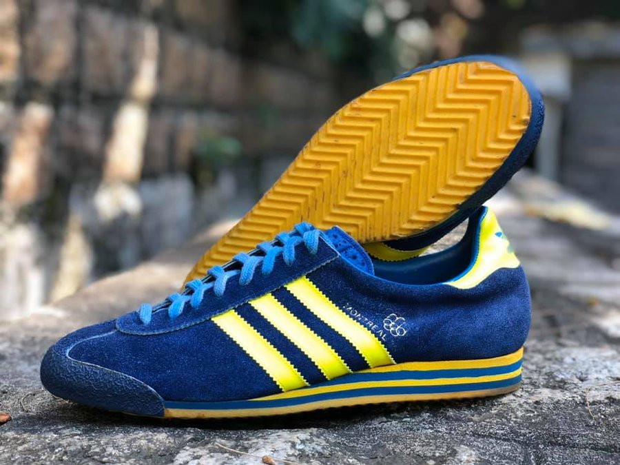 Adidas Super Montreal 76 vintage made in Yugoslavia