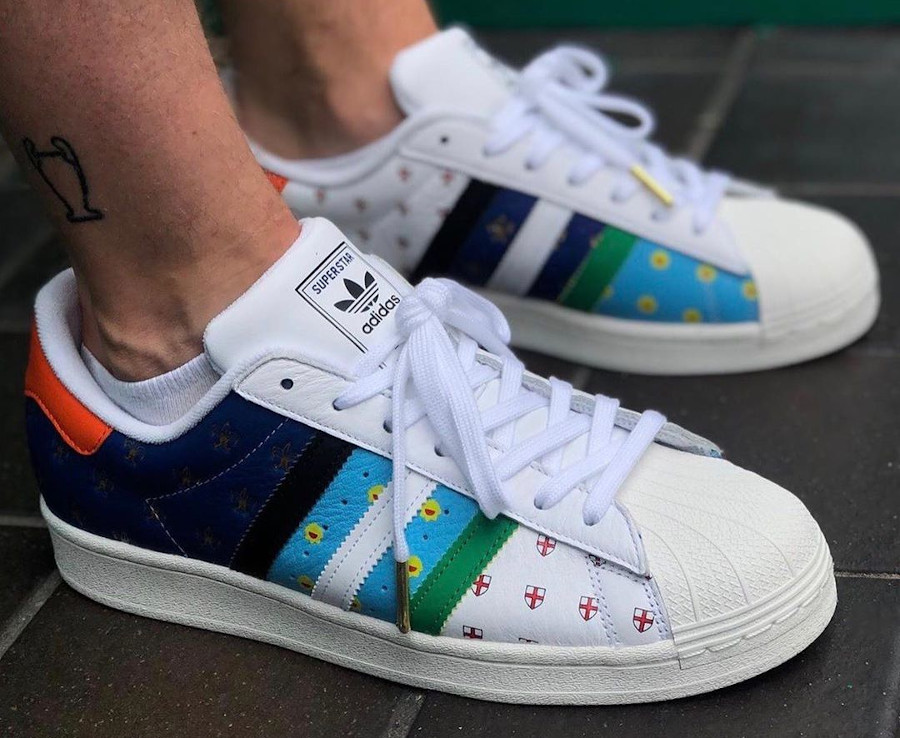 Adidas Superstar Oddity Size Exclusive 2020 on feet