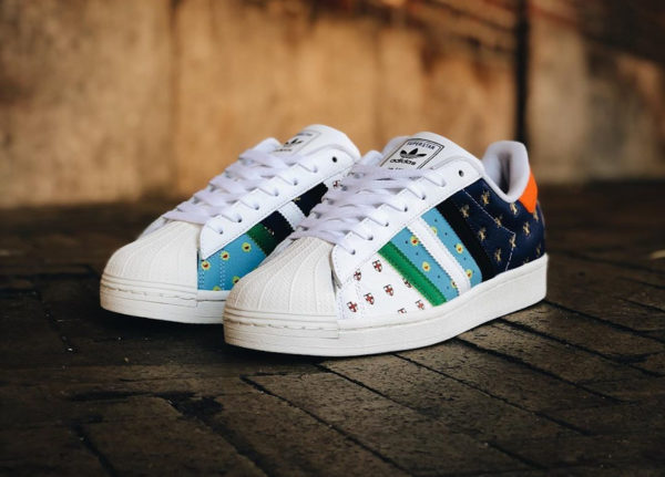 Adidas Superstar Size 20 50 City Series Tribute