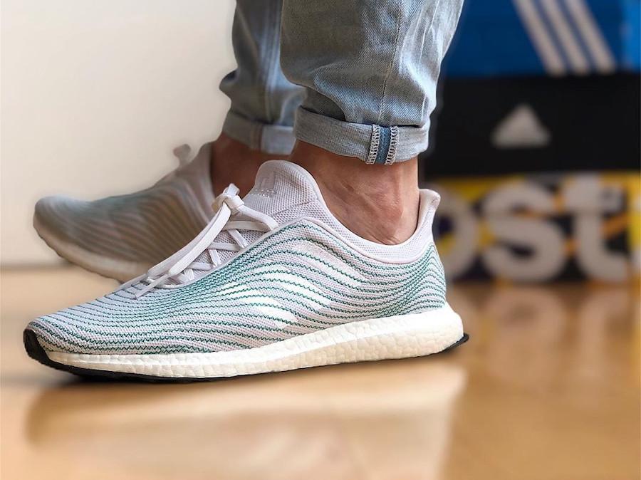 Adidas Ultra Boost 2020 en déchets recyclés des océans (2)
