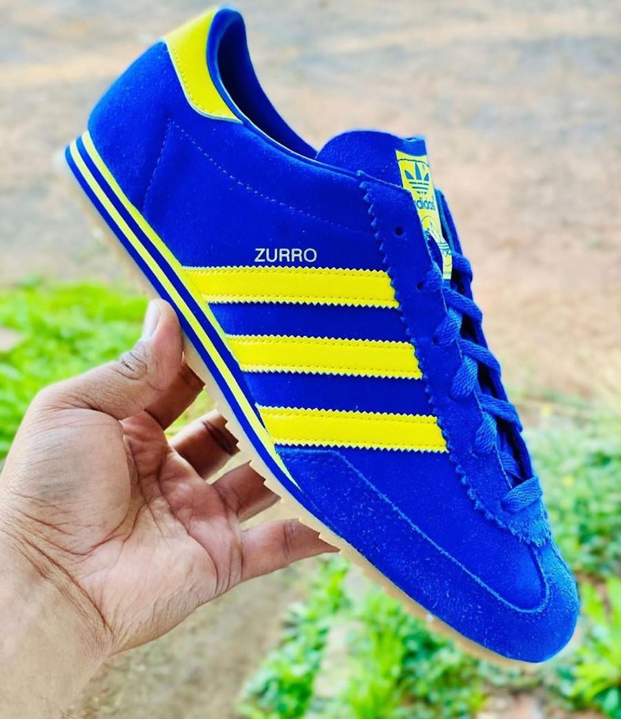 Adidas Zurro SPZL Spezial Bold Blue Bright Yellow FV5481