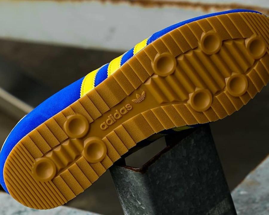 Adidas Zurro SPZL bleu et jaune fluo (3)