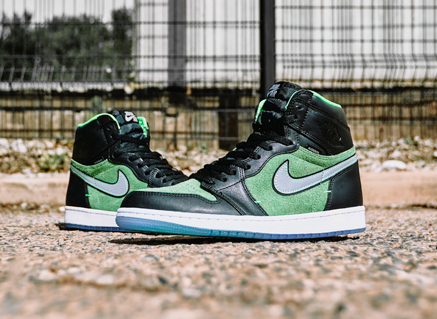 Air Jordan 1 High Zoom Zen Rage Green