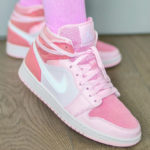 Women's Air Jordan 1 Mid Digital Pink