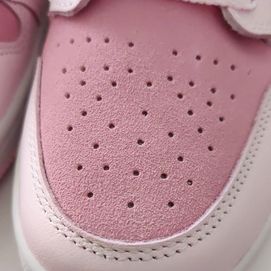 Air Jordan 1 mi-montante rose 2020 pour femme (4)