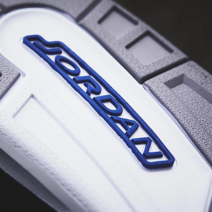 Air Jordan III Retro bleue avec un imprimé éléphant (6-1)