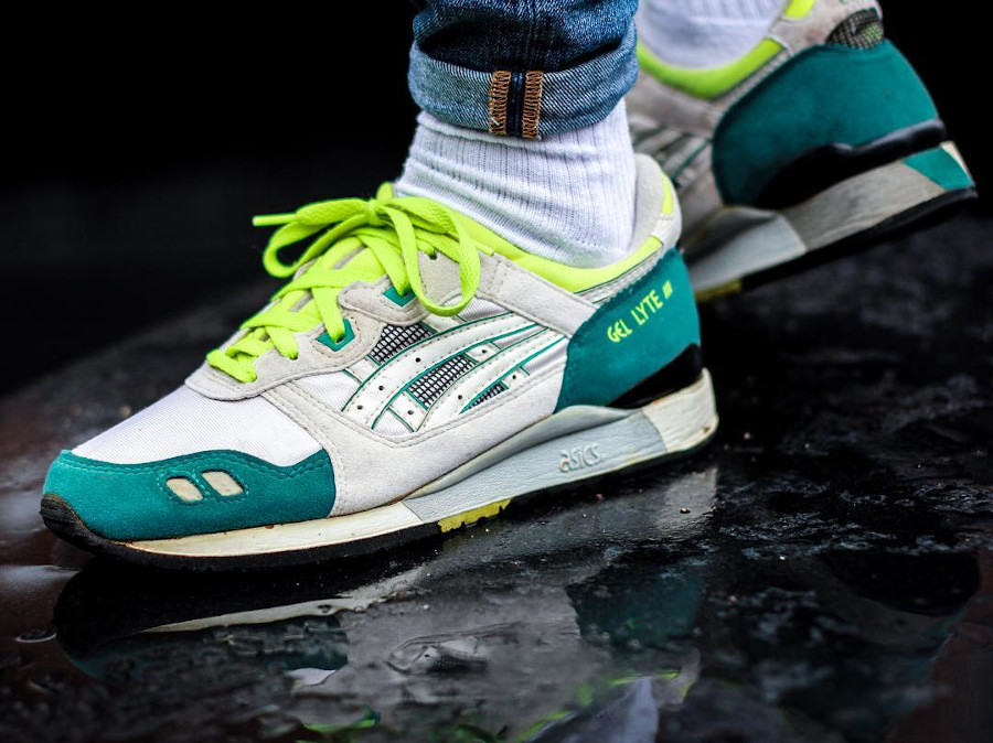 Asics Gel Lyte 3 OG 1990 Citrus Green Yellow - @caleidoscobe (5)