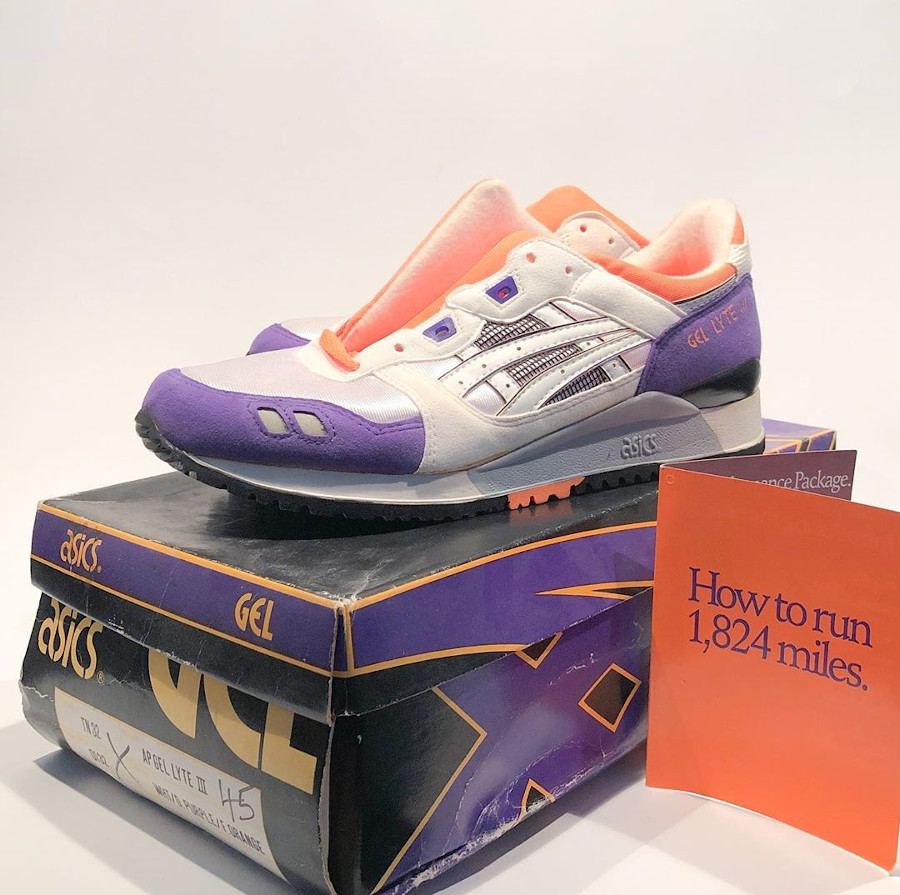 Asics Gel Lyte 3 OG 1990 White Orange Purple @cutch.le.dutch (7)