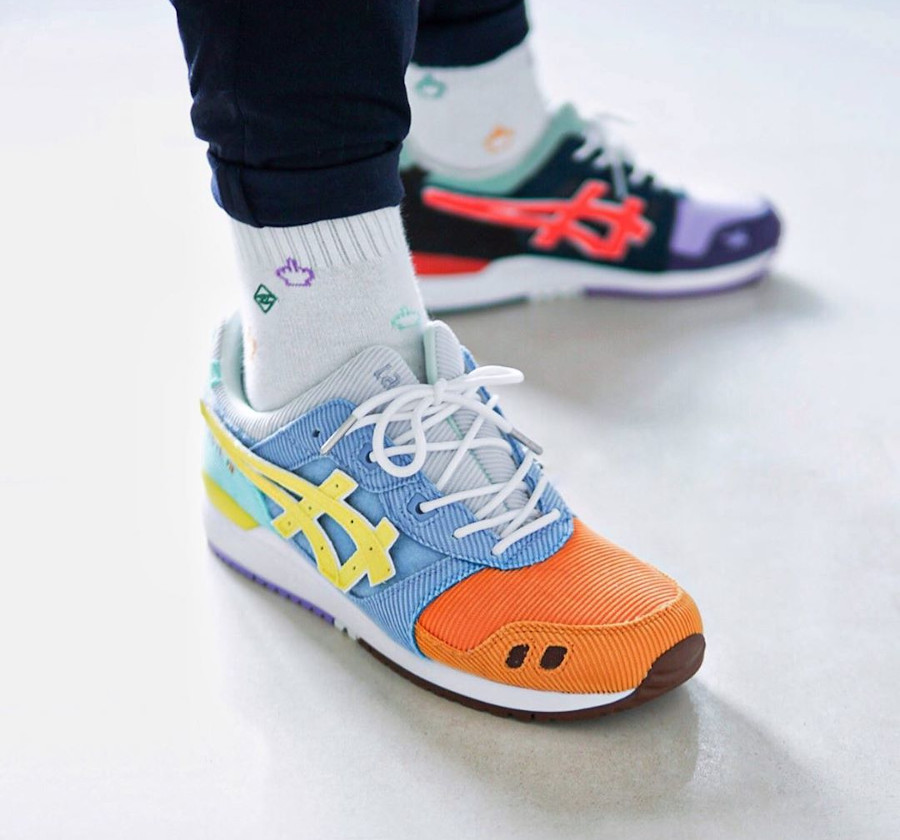 Atmos x Asics Gel Lyte 3 SW Sean Wotherspoon Multicolor 1203A019-000 (1)