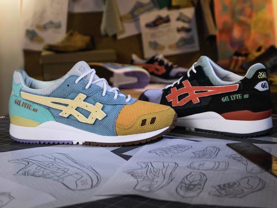Atmos x Asics Gel Lyte 3 SW Sean Wotherspoon Multicolor 1203A019-000
