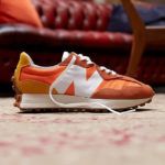 New Balance 327 Orange Yellow