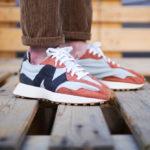 New Balance 327 Rust Brown Grey