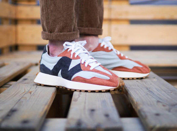 New Balance 327 MS327JC1 Rust Brown Grey