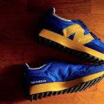 New Balance 327 Blue Yellow