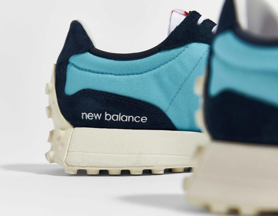 New Balance 327 femme blanche bleu clair et foncé (3)