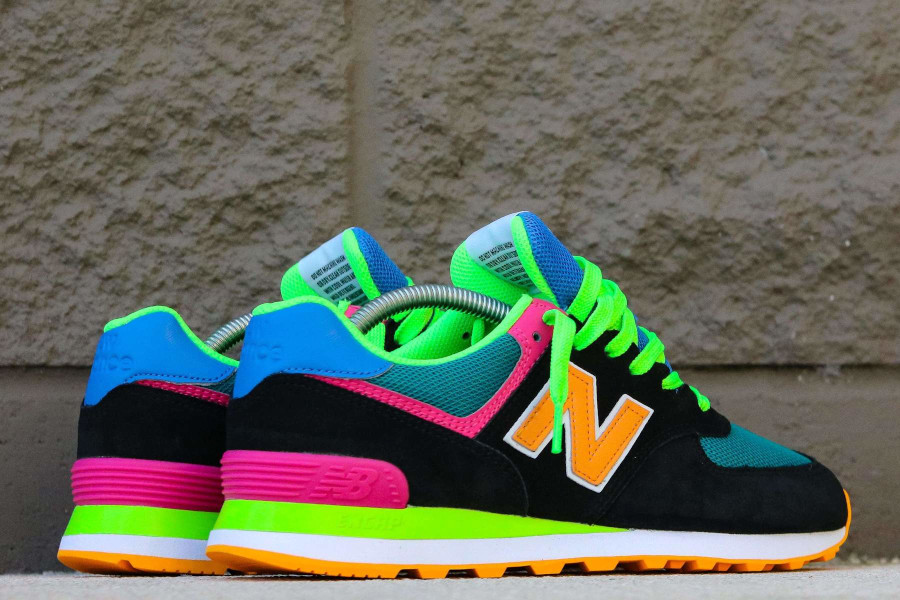 New Balance 574 ML574MA2 Black Energy Lime