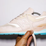 New Balance 997 Tan Blue Agua (made in USA)