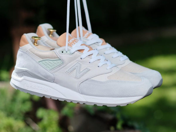 New Balance 998 M998ENE White Tan 781281-60-3