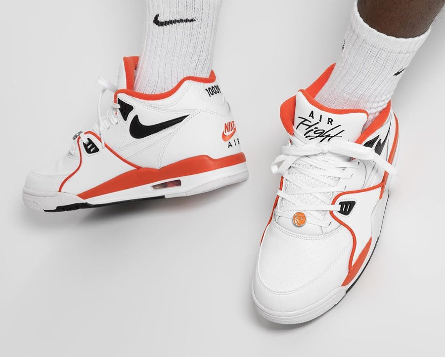 Nike Air Flight 89 Harlem basketball Tournament on feet (1)