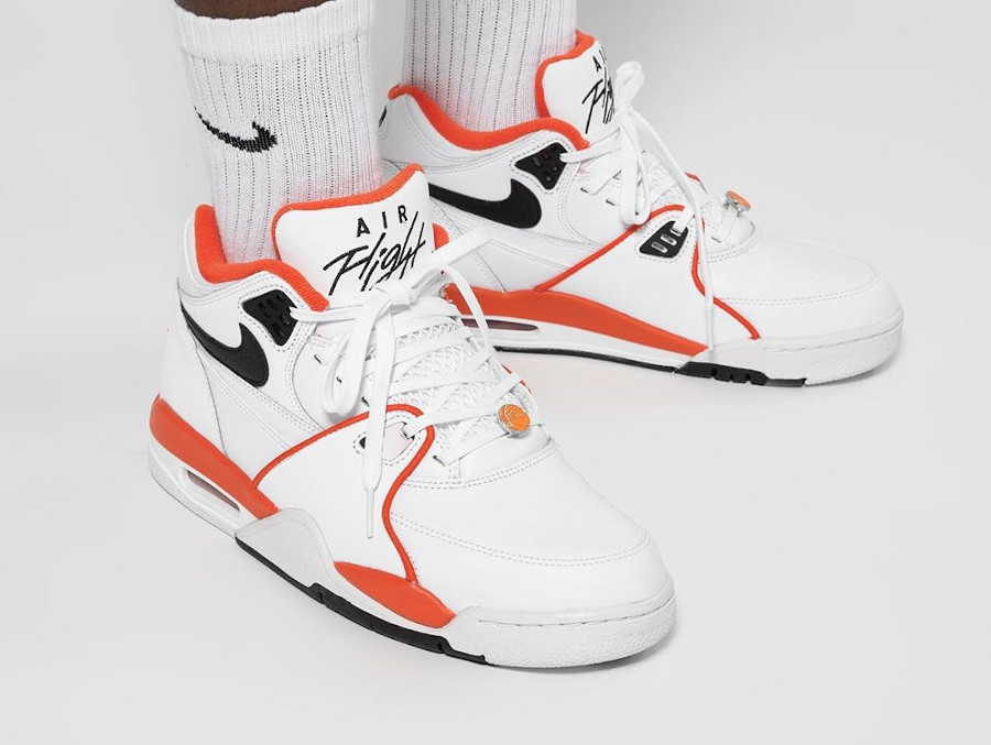 Nike Air Flight 89 Harlem basketball Tournament on feet (2)