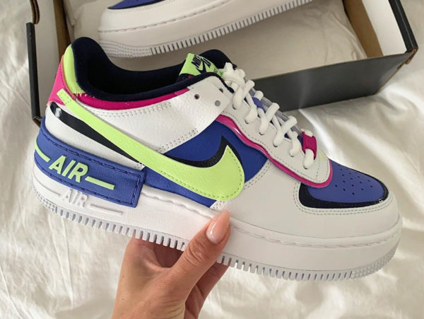 Nike Air Force 1 AF1 Shadow Sapphire CJ1641-100 (couv)