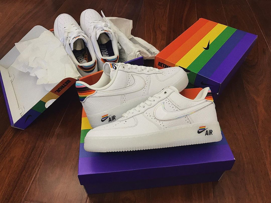Nike Air Force 1 Betrue Pride 2020 Multicolor