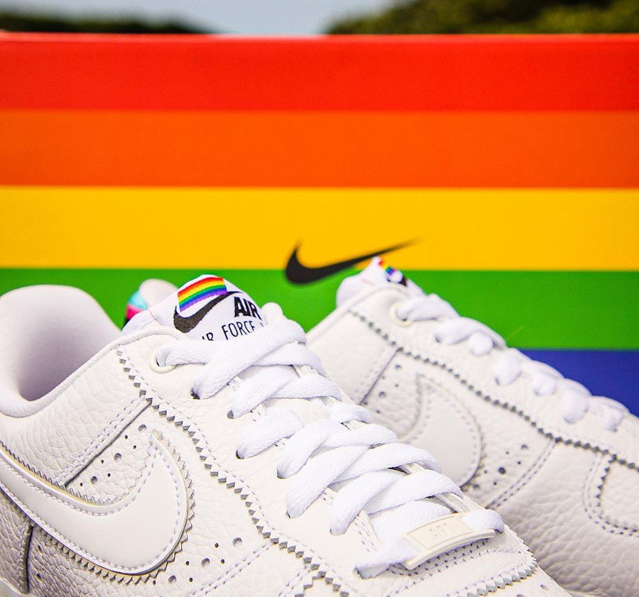 Nike Air Force 1 Low Be True LGBT Gay Pride (2)