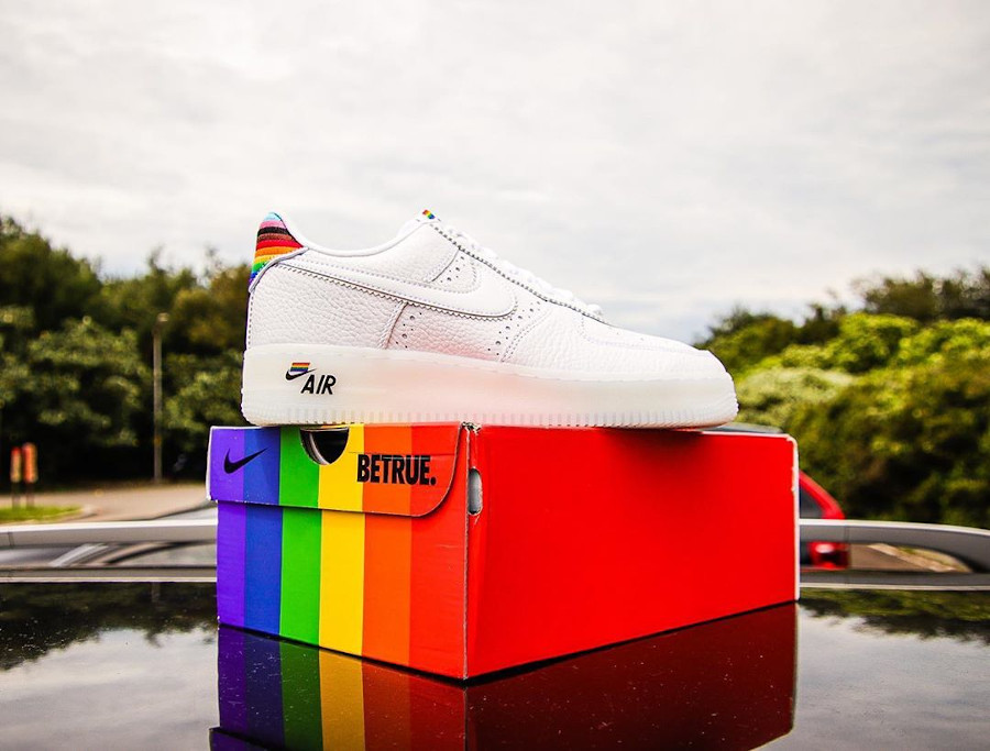 Nike Air Force 1 Low Be True LGBT Gay Pride (4)