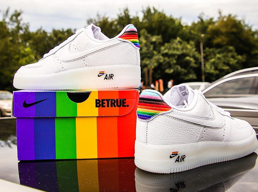 Nike Air Force 1 Low Be True LGBT Gay Pride (5)