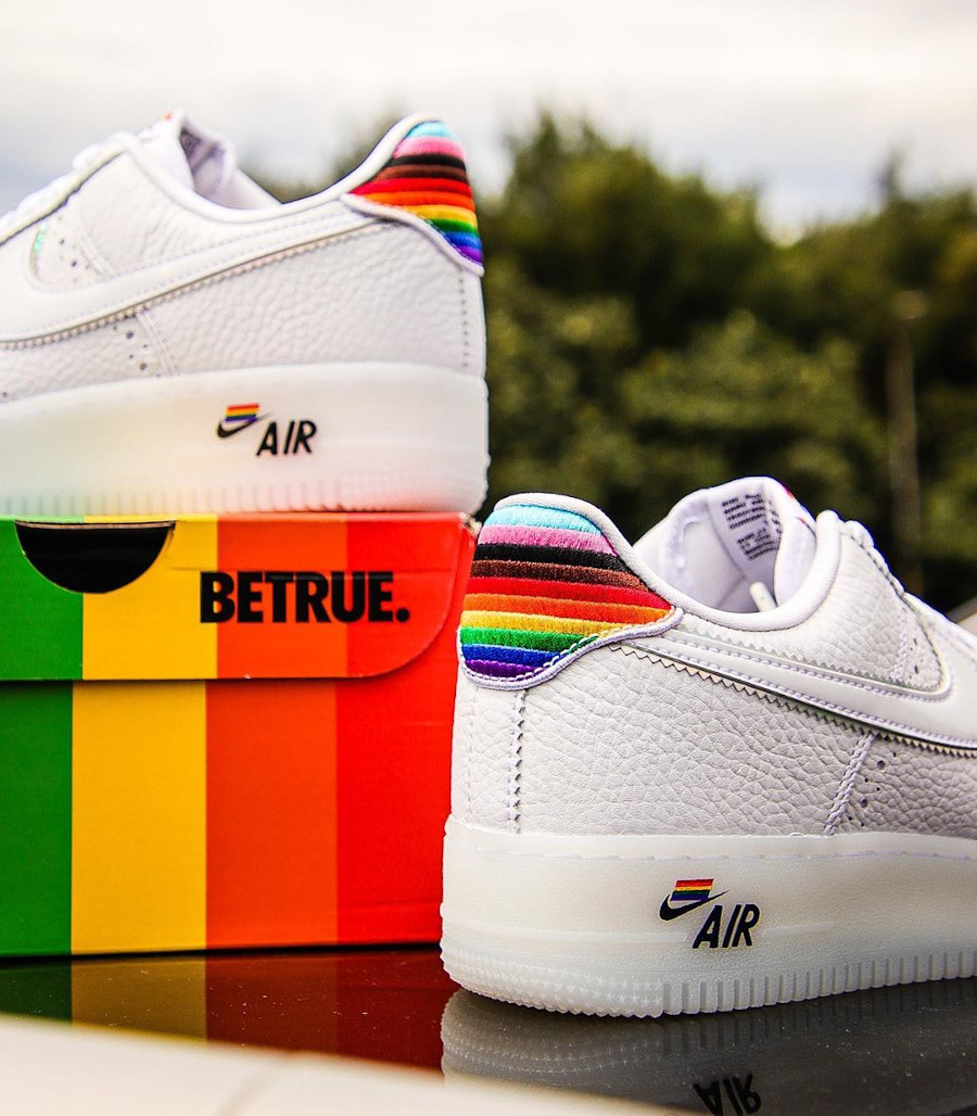 Nike Air Force 1 Low Be True LGBT Gay Pride (6)