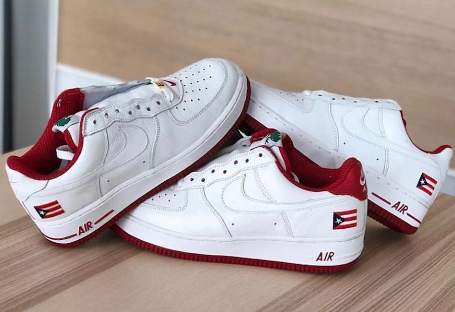 Nike Air Force 1 Low PR2 Puerto Rico 2 (2001) - @malditogedo