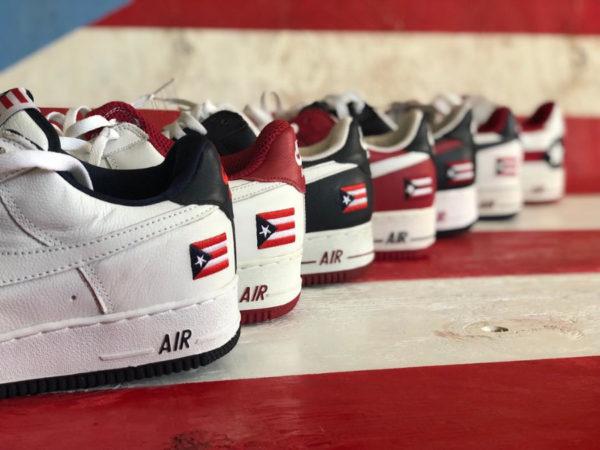 Nike Air Force 1 Low QS Puerto Rico 2020 CJ1386 100
