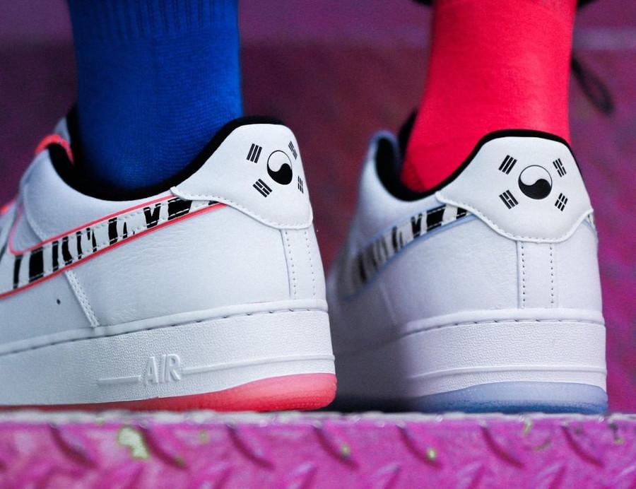 Nike Air Force 1 Low tigre blanc (1)
