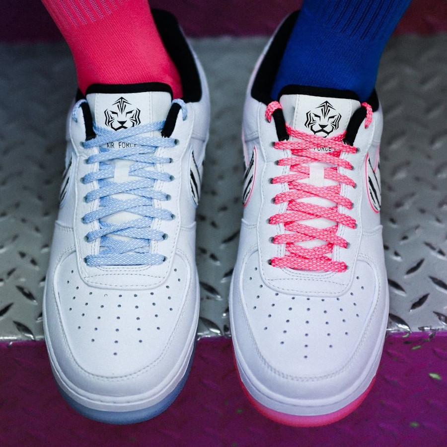 Nike Air Force 1 Low tigre blanc (5-1)