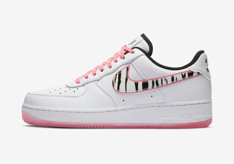 Nike Air Force 1 White Tiger