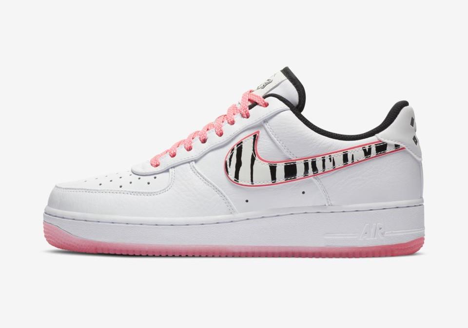 Nike Air Force 1 White Tiger