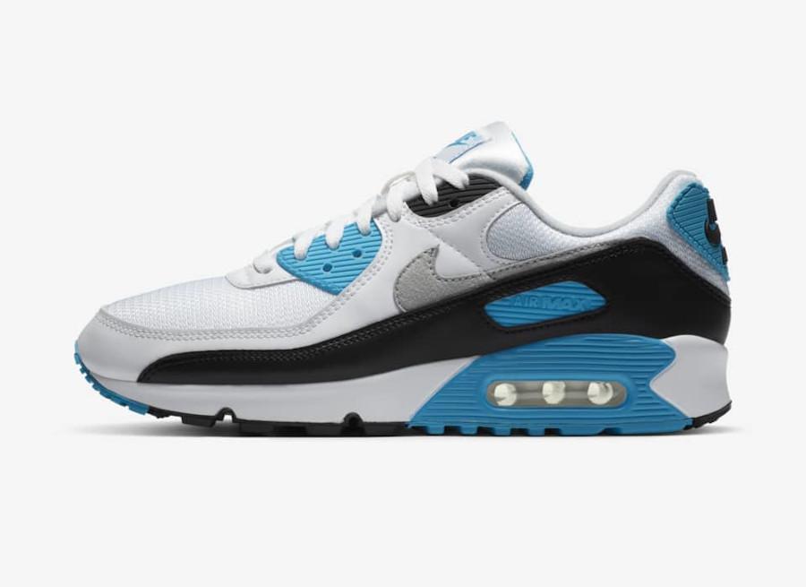 Nike Air Max 90 OG Laser Blue sortie en france