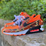 Nike Air Max 90 Premium Orange Reverse Duck Camo