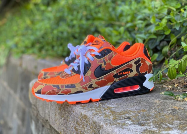 Nike Air Max 90 PRM SP Orange Duck Camo CW4039-800