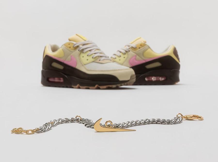 Nike Air Max 90 avec une chaine bracelet (2)