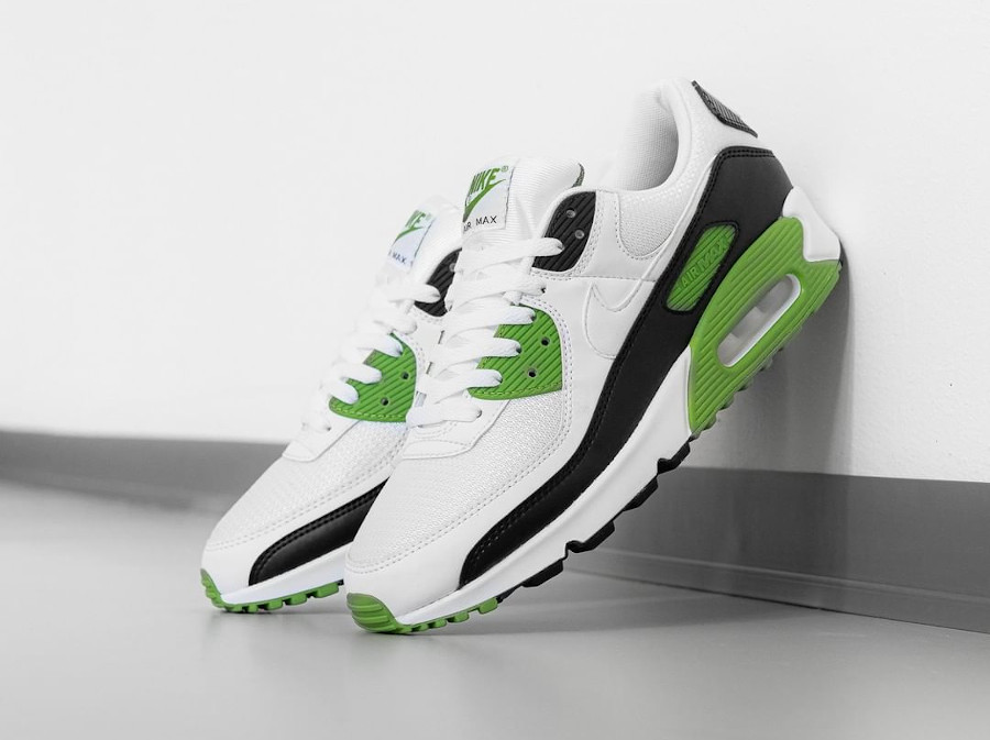 Nike Air Max 90 homme 30th Anniversary vert chlorophylle (4)