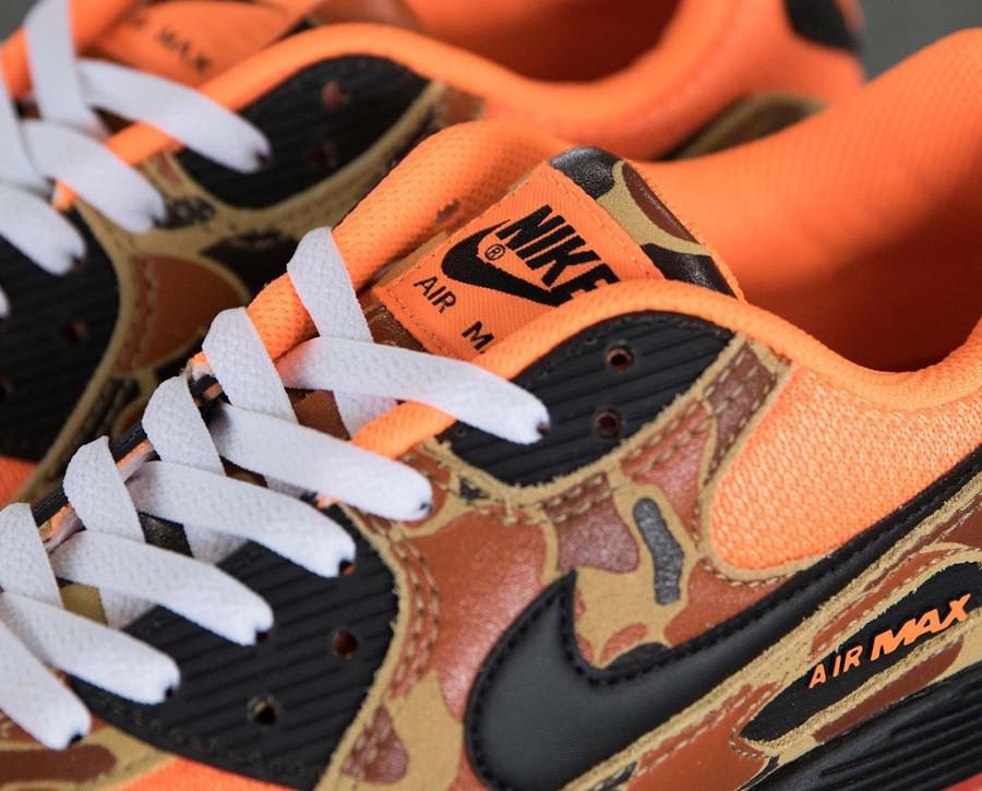 Nike Air Max 90 imprimé militaire canard orange (2)