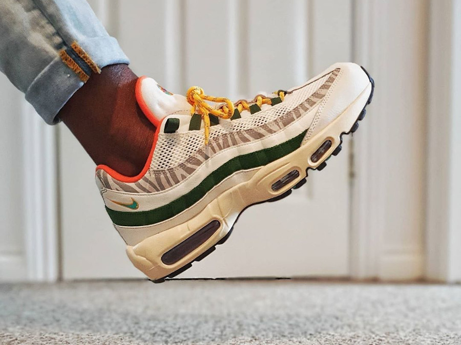 CZ9723 100 : que vaut Nike Air Max 95 QS Era Safari Forest