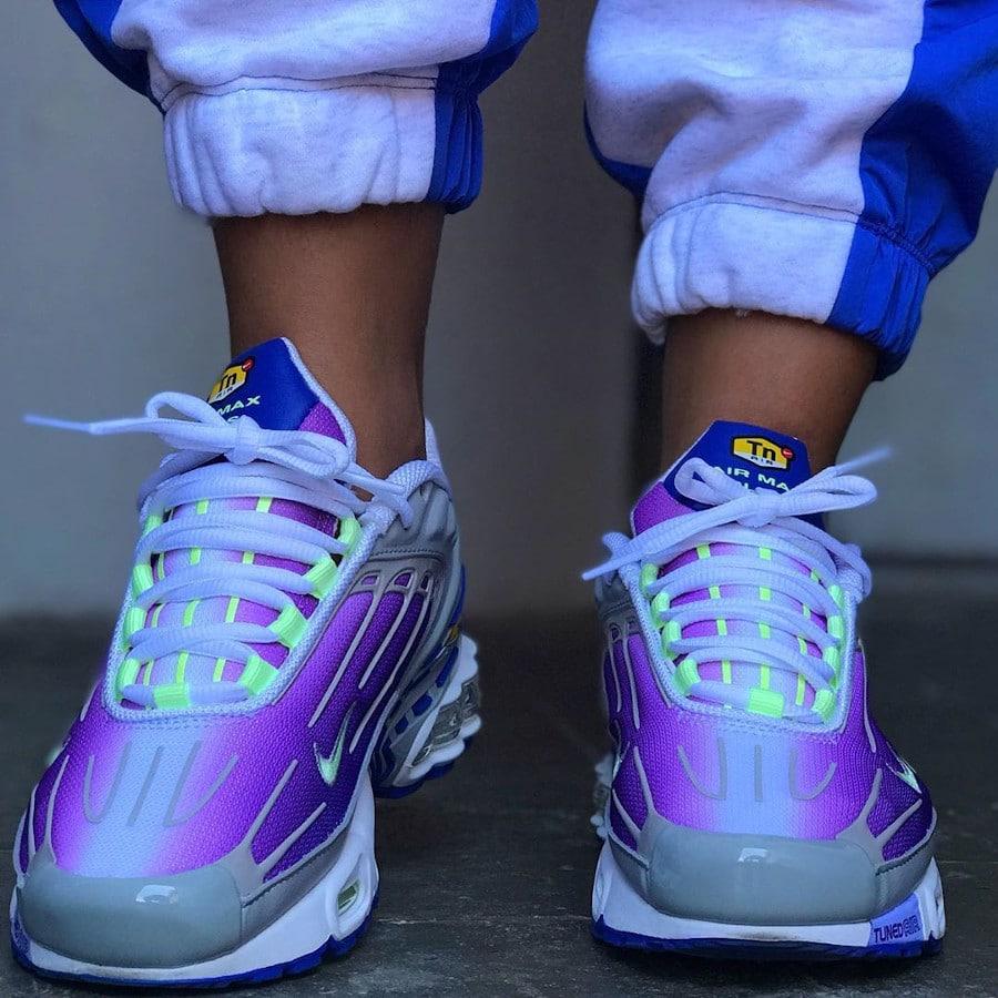 Nike Air Max Plus 3 TN3 GS Purple Nebula