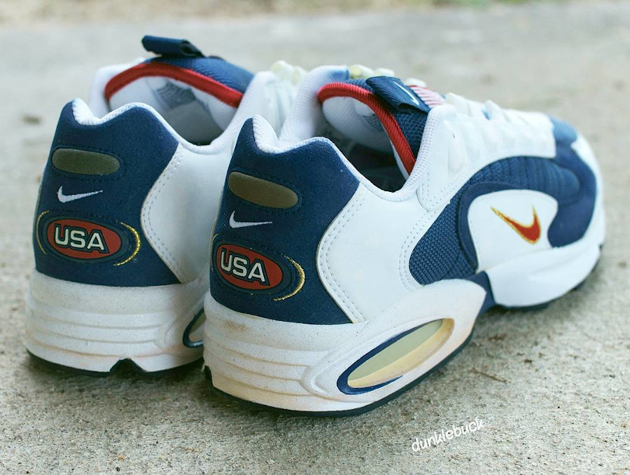 CT1763 400 : que vaut la Nike Air Max Triax 96 USA Olympic