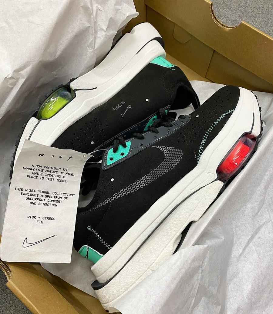 Nike Air Zoom Type noire et vert menthe (1)